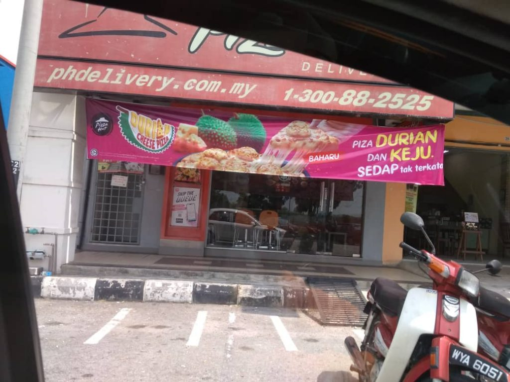 pizza durian